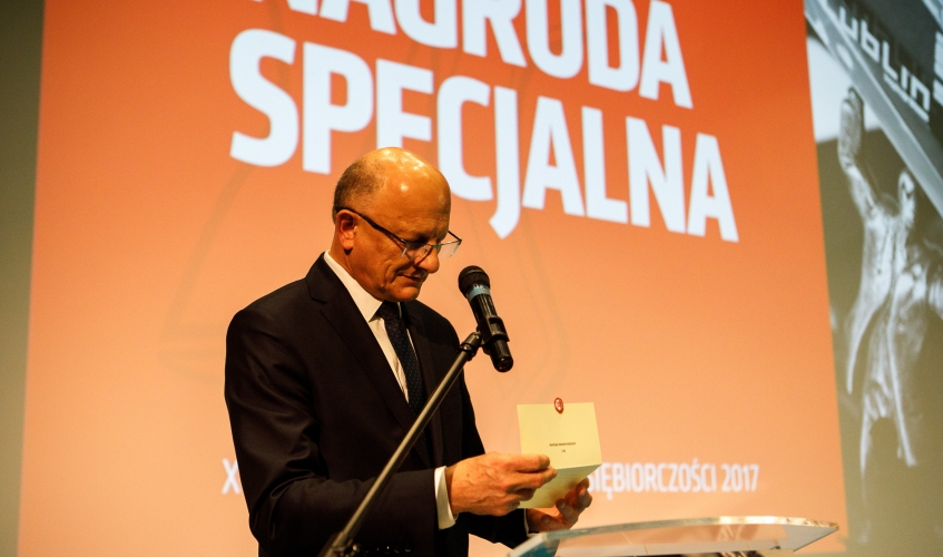 Mayor of Lublin handed over the Economic Awards