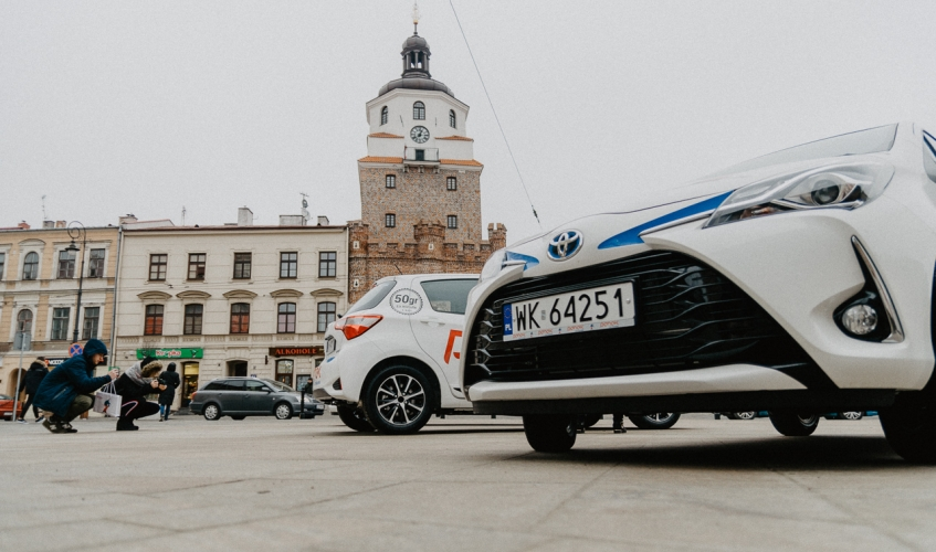 Lublin supports CarSharing
