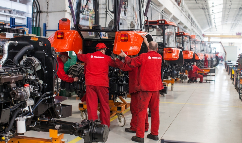 Lublin-based manufacturer leads in tractor industry