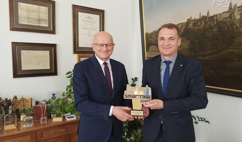 Lublin with Smart City Award