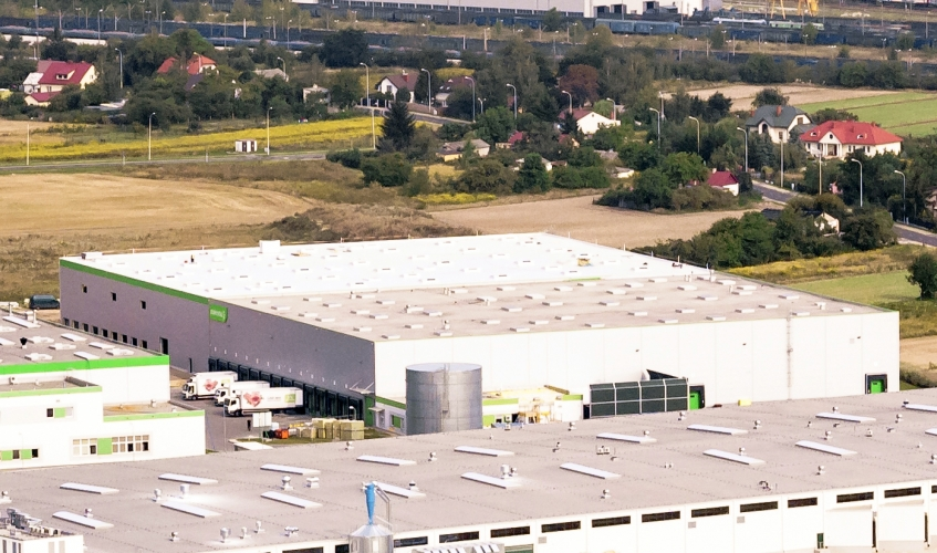Stokrotka opened a distribution centre in Lublin